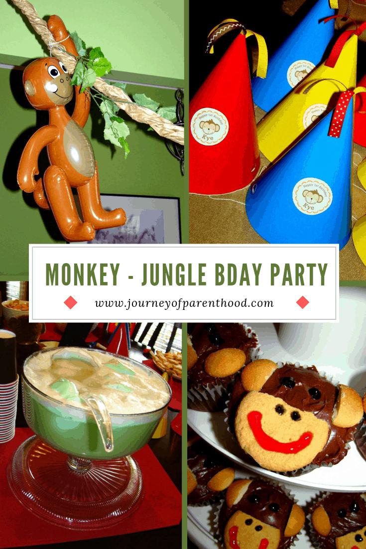Monkey Party Decor