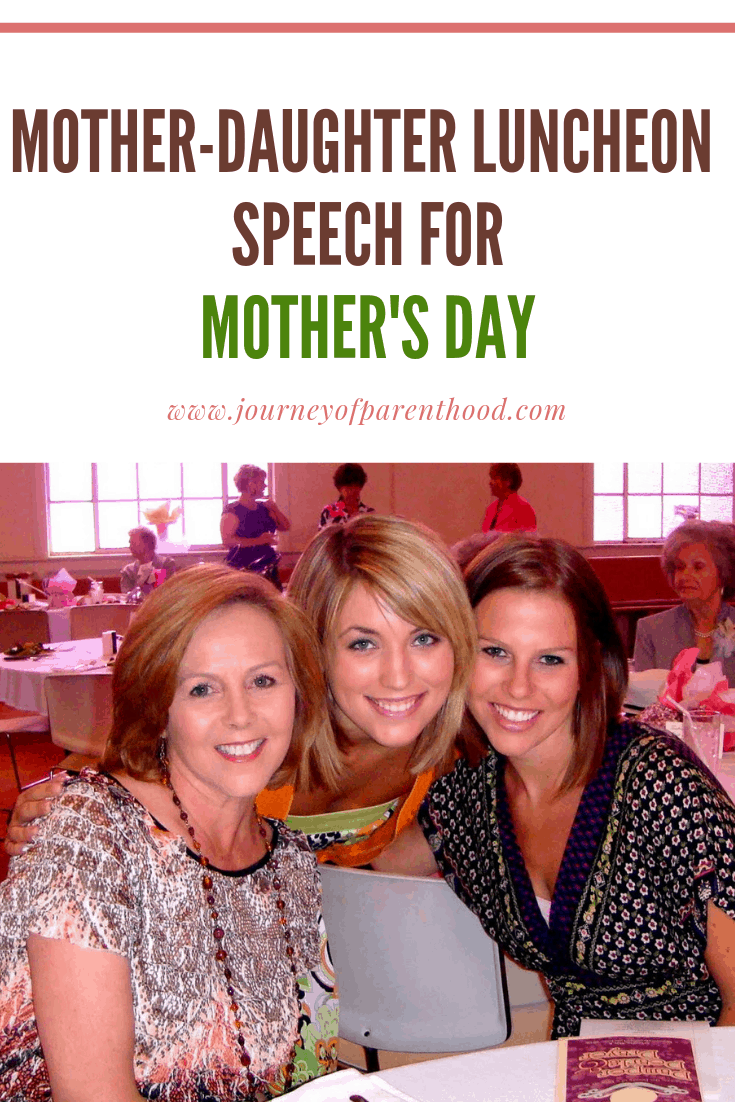 Mother's Day luncheon speech