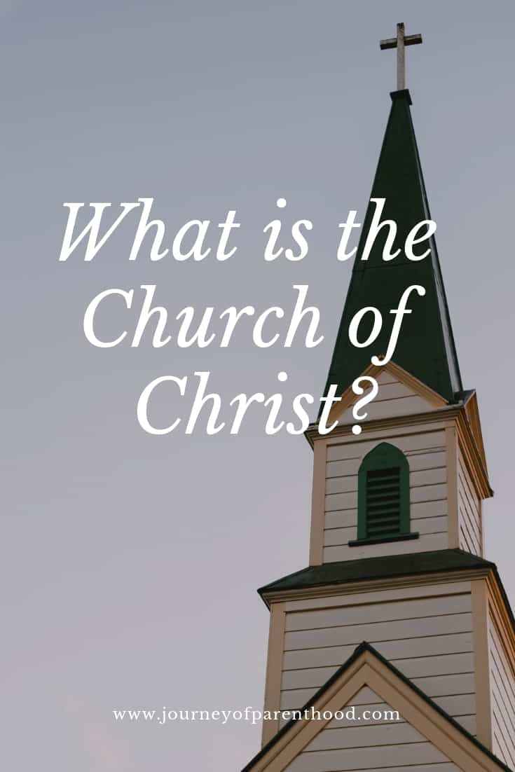 My Church: What Is the Church of Christ?