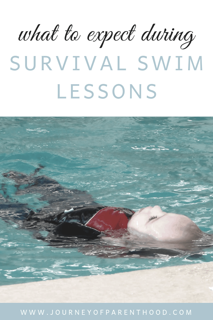 what to expect during survival swim lessons