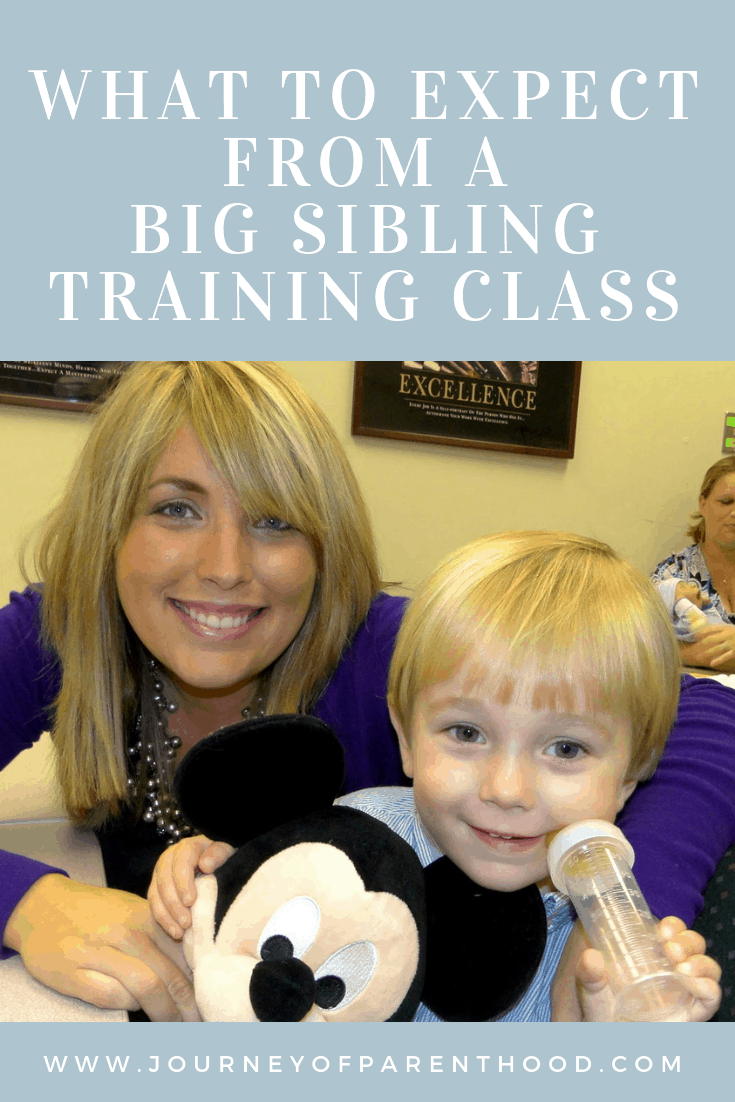 what to expect from a big sibling class