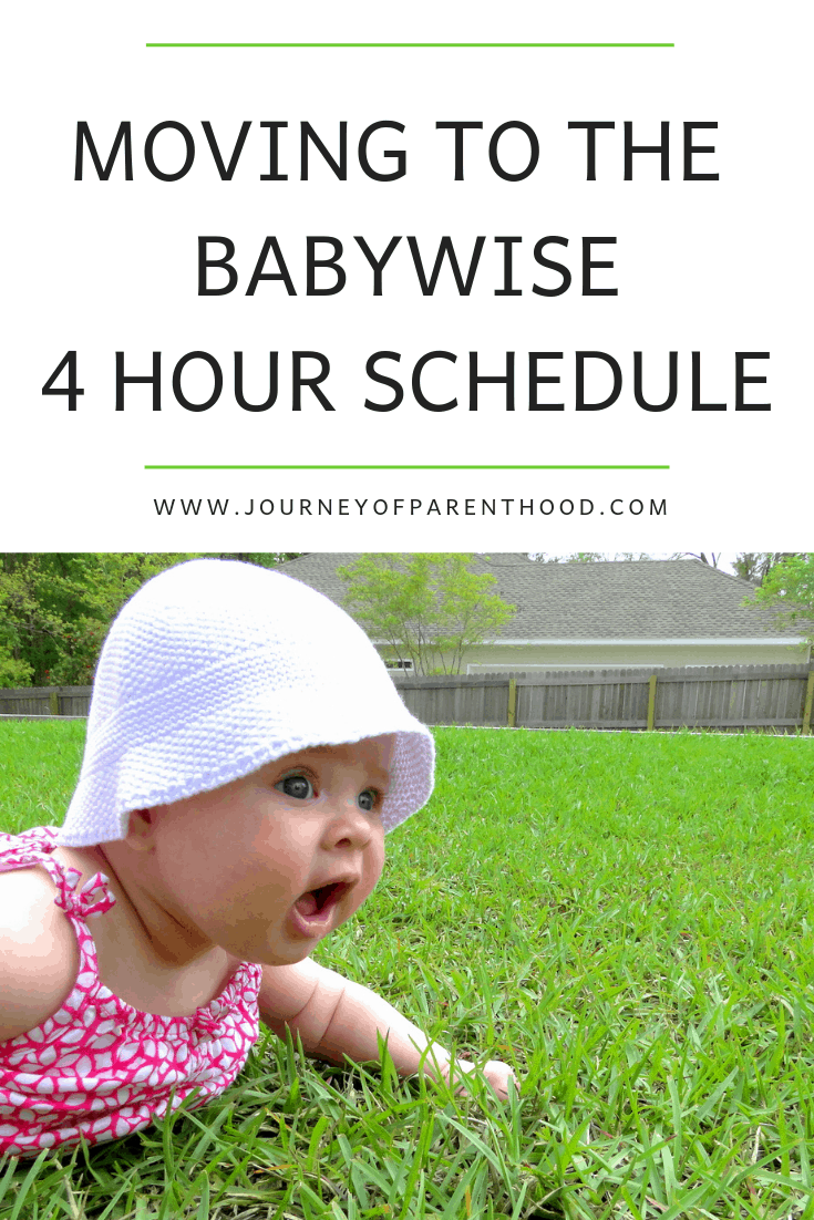 4 hour feeding schedule babywise