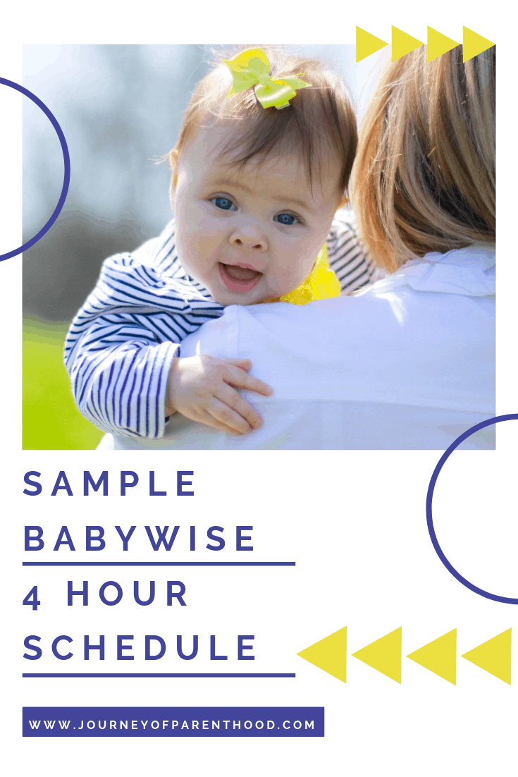 Moving to the 4 Hour Feeding Schedule (Babywise)