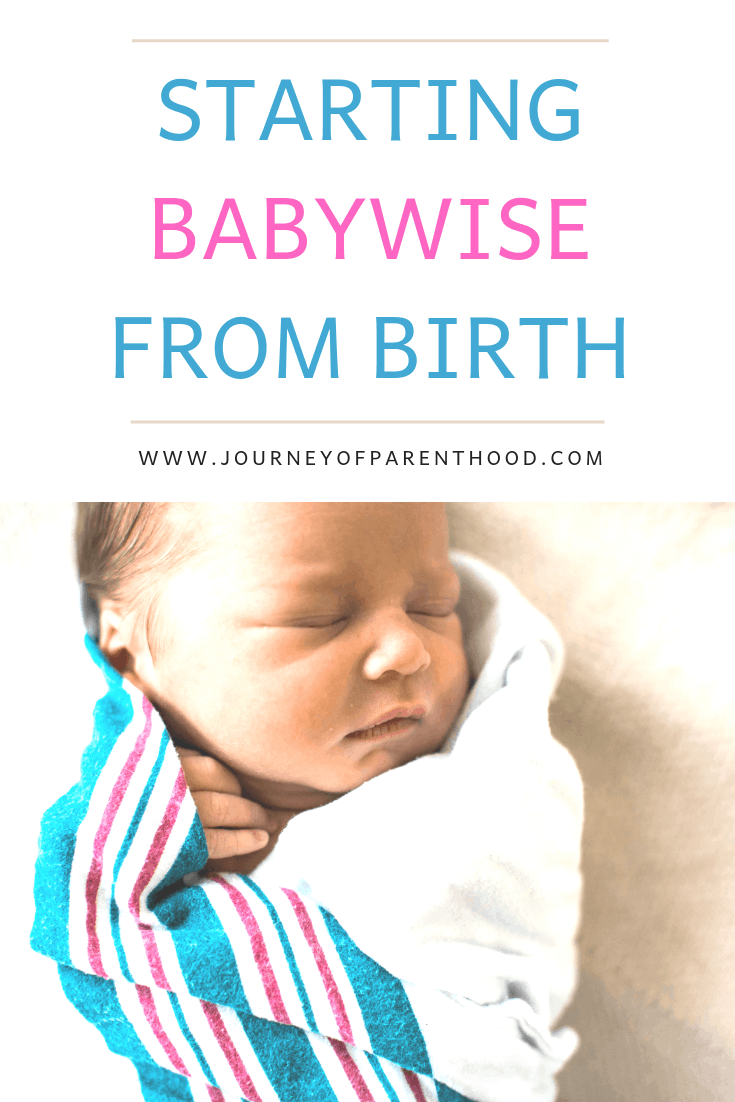 babywise from birth pinterest image