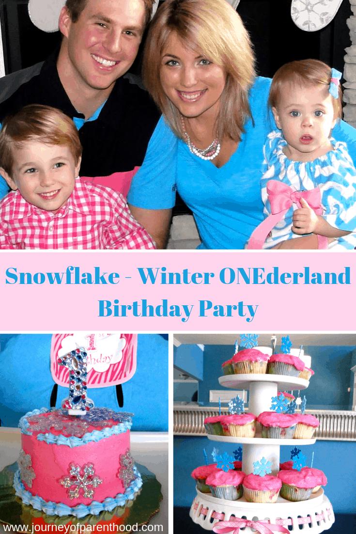 snowflake birthday party