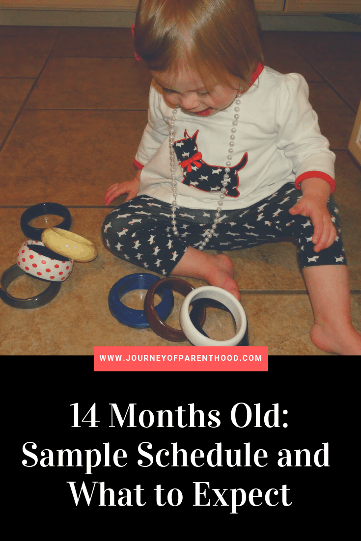 14 months old sample schedule and what to expect