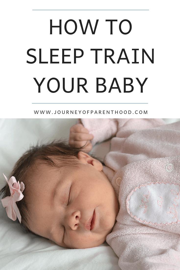 how to sleep train your baby using babywise method