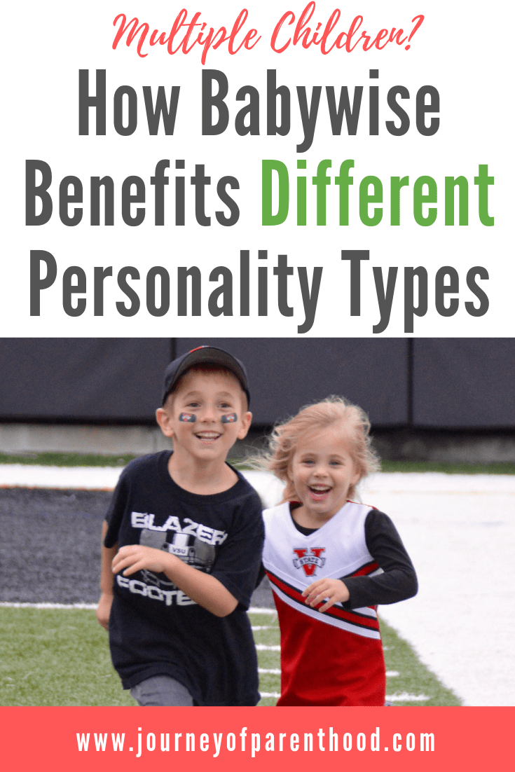 Babywise benefits different personality types