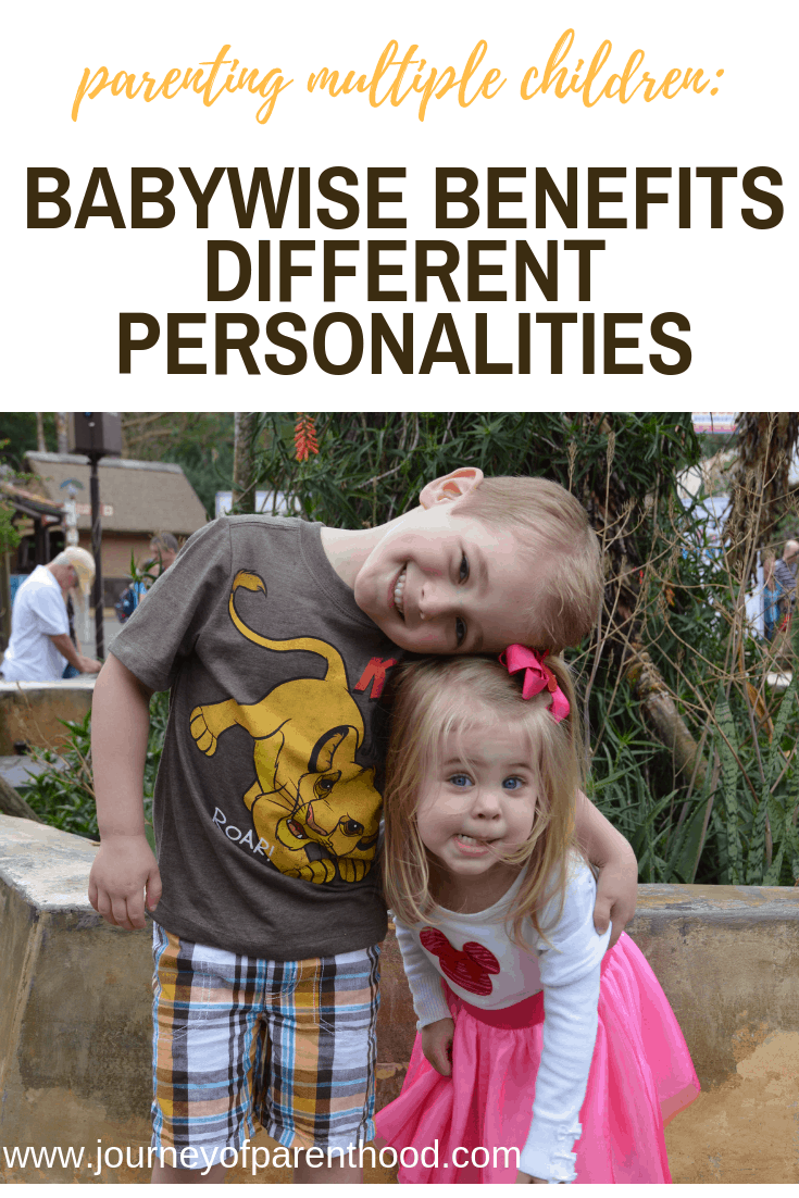 Babywise Benefits Different Personalities