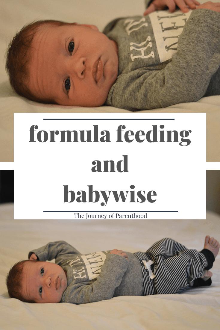 formula feeding and babywise