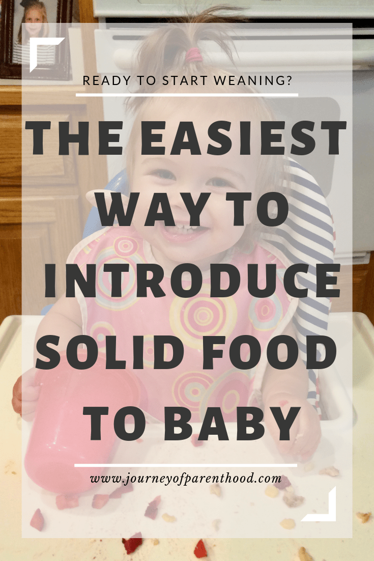 ready to start weaning? the easiest way to introduce solid food to baby
