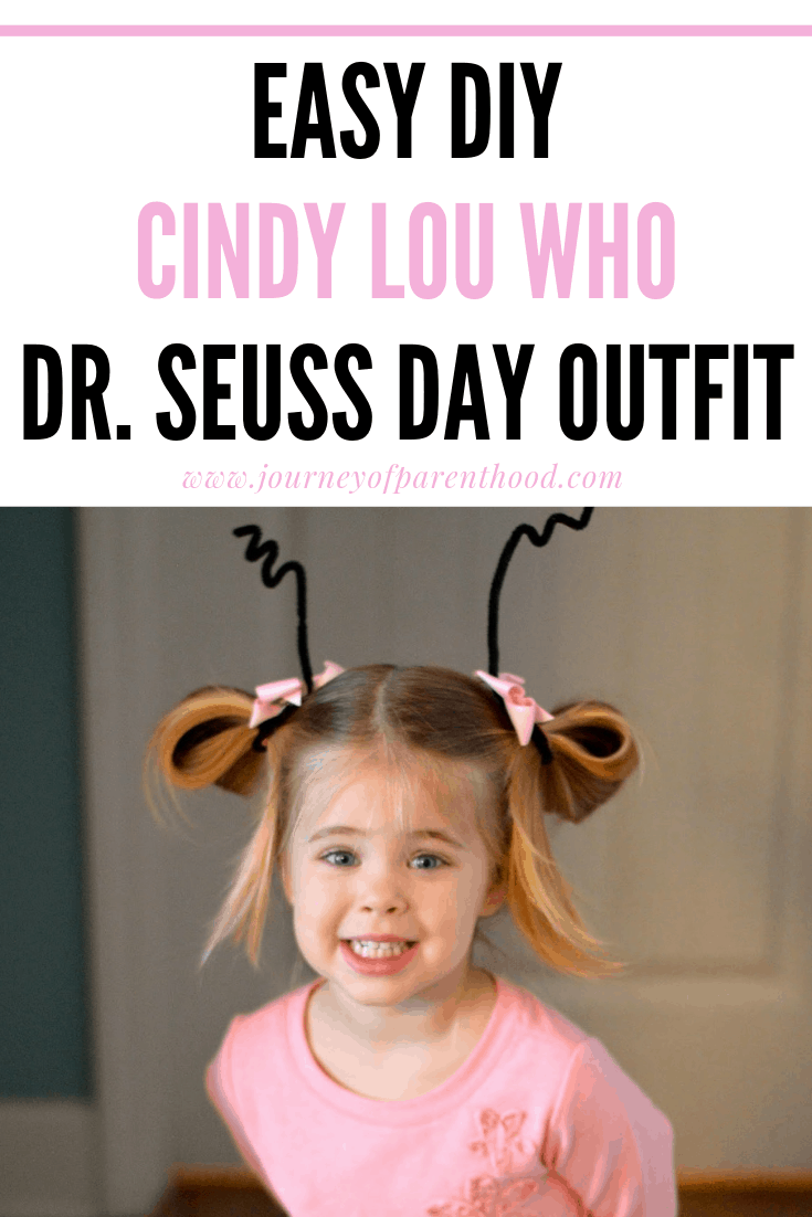 Cindy Lou who dr Seuss day outfit
