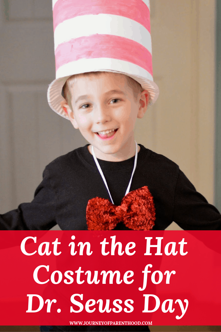 cat in the hat costume for dr Seuss day
