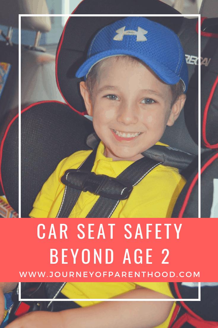 car seat safety beyond age 2