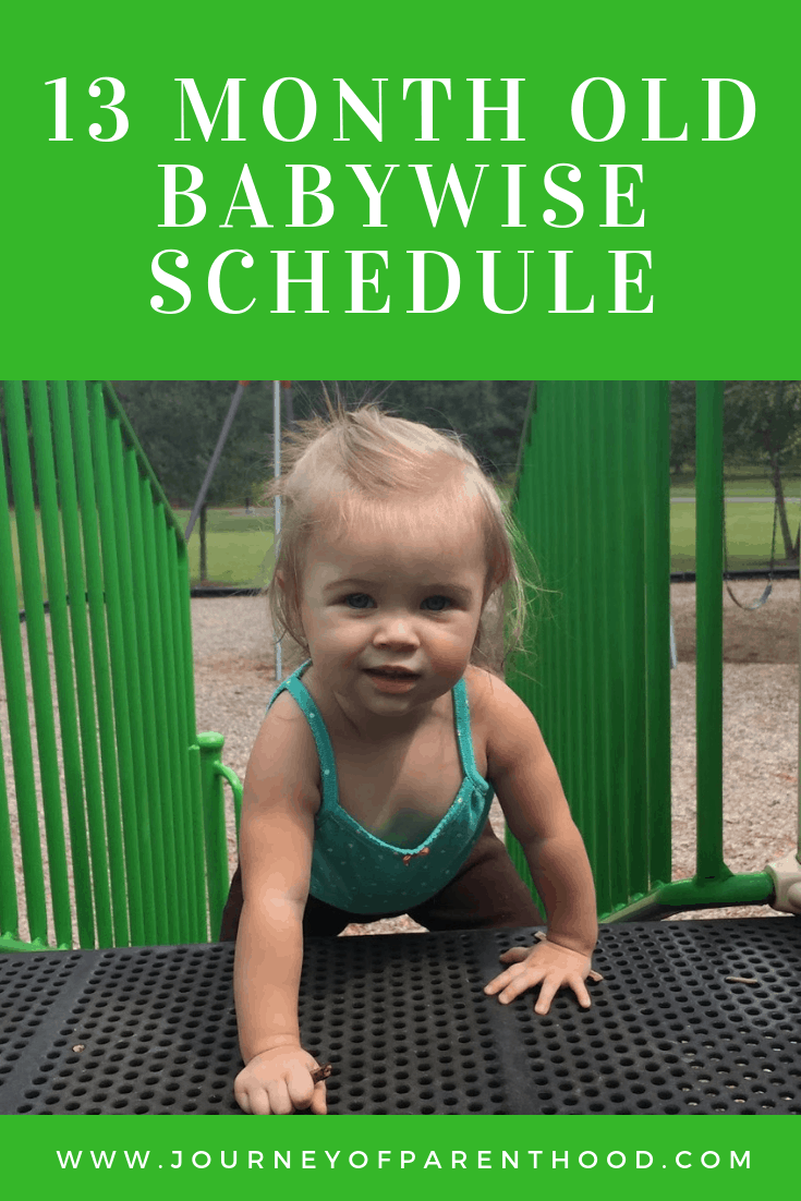 what to expect at 13 months old