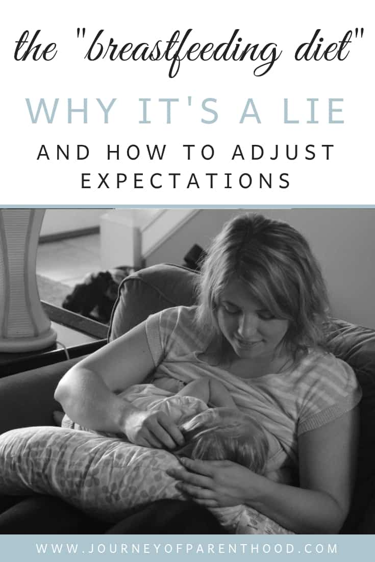 mom breastfeeding baby - the breastfeeding diet why it's a lie and how to adjust expectations.