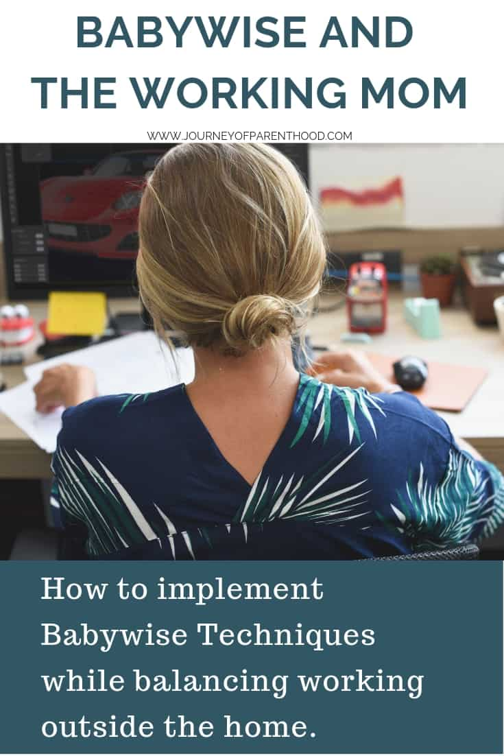 how to implement Babywise as a working mom