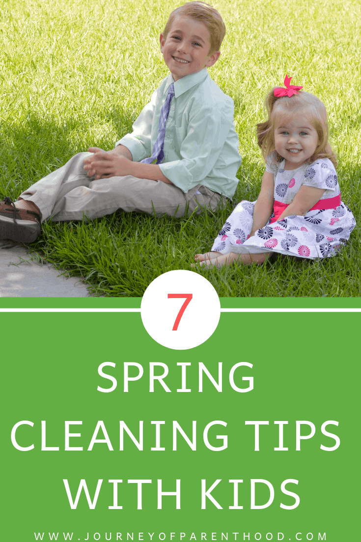7 spring cleaning tips with kids