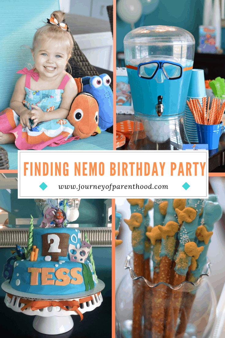 Finding Nemo and Dory Birthday Party Decor
