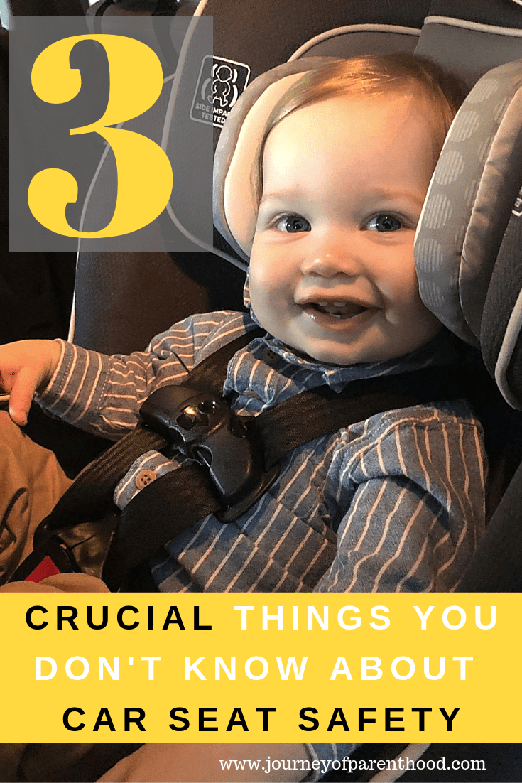 3 crucial things you don't know about car seat safety
