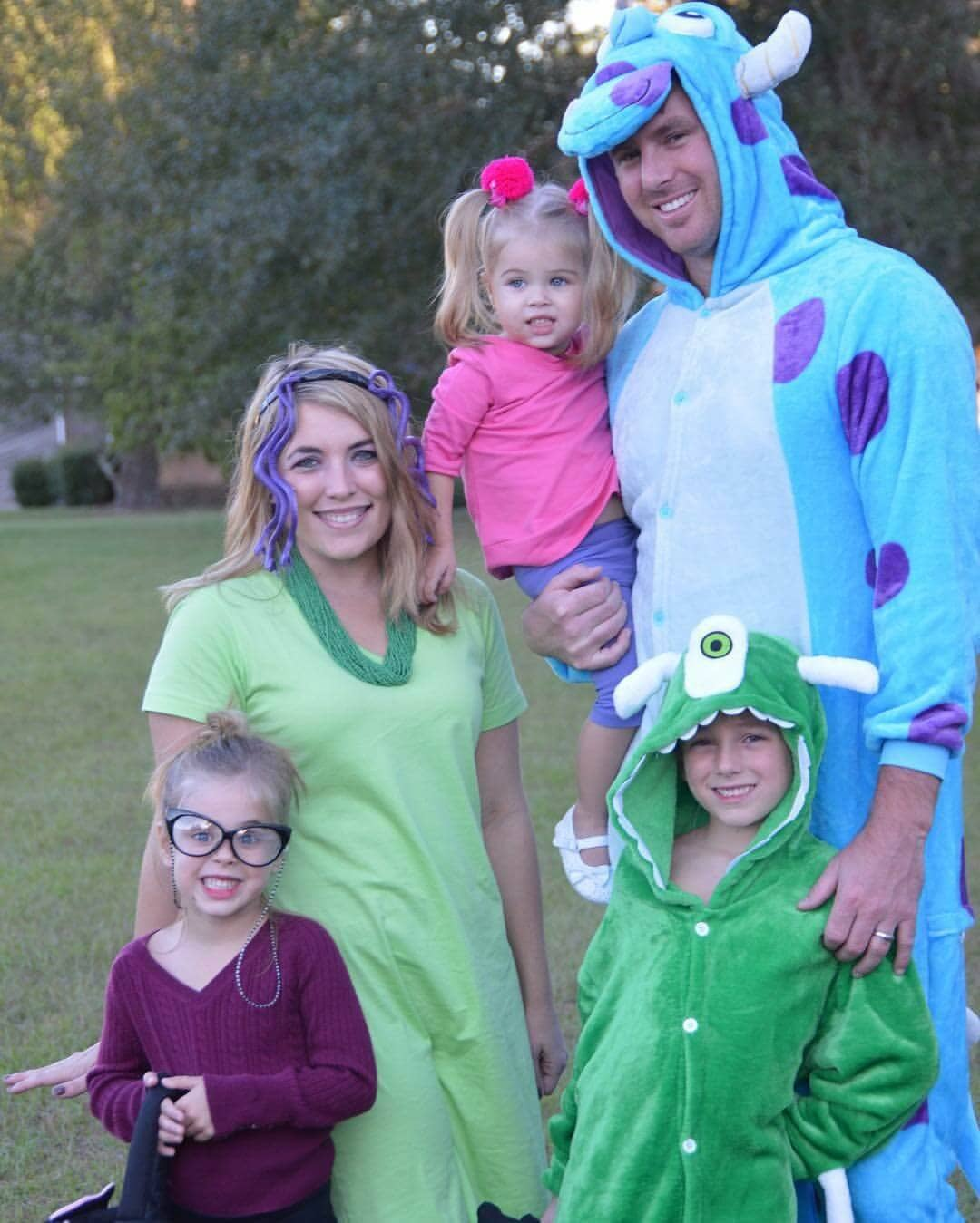 Monsters Inc Halloween Costumes for the Whole Family!