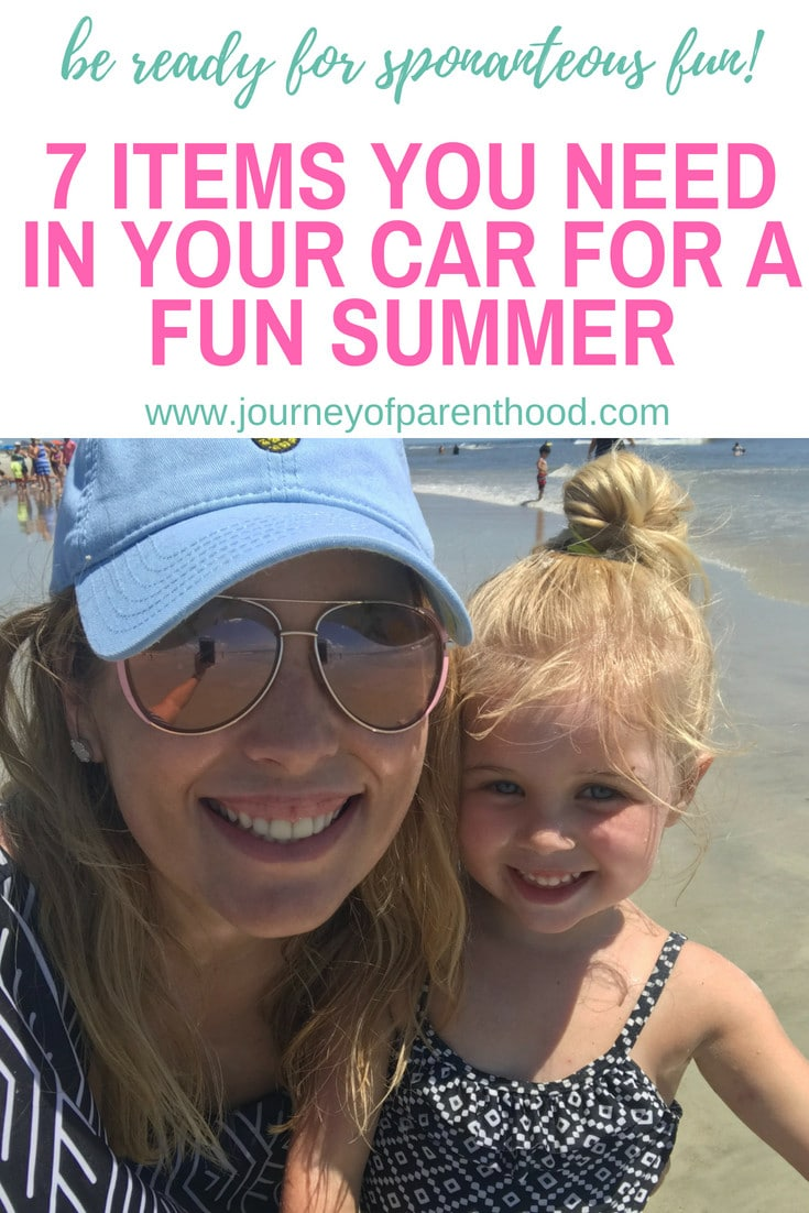 7 things to keep in the car for summer