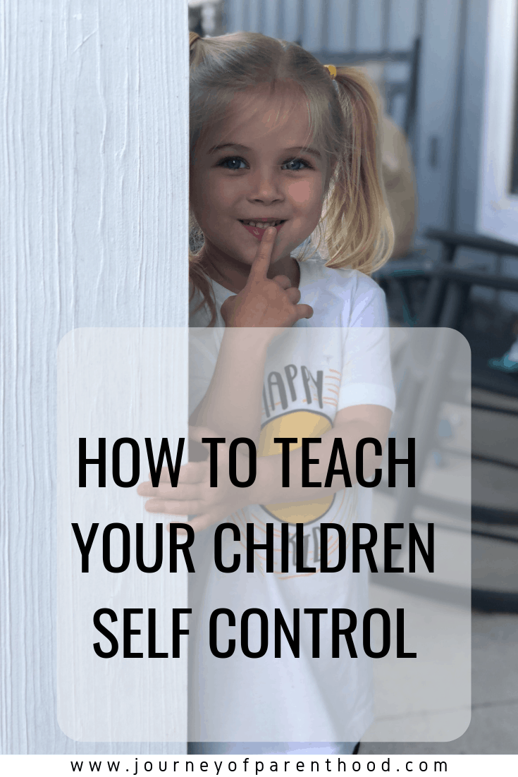 How to Teach Your Children Self-Control