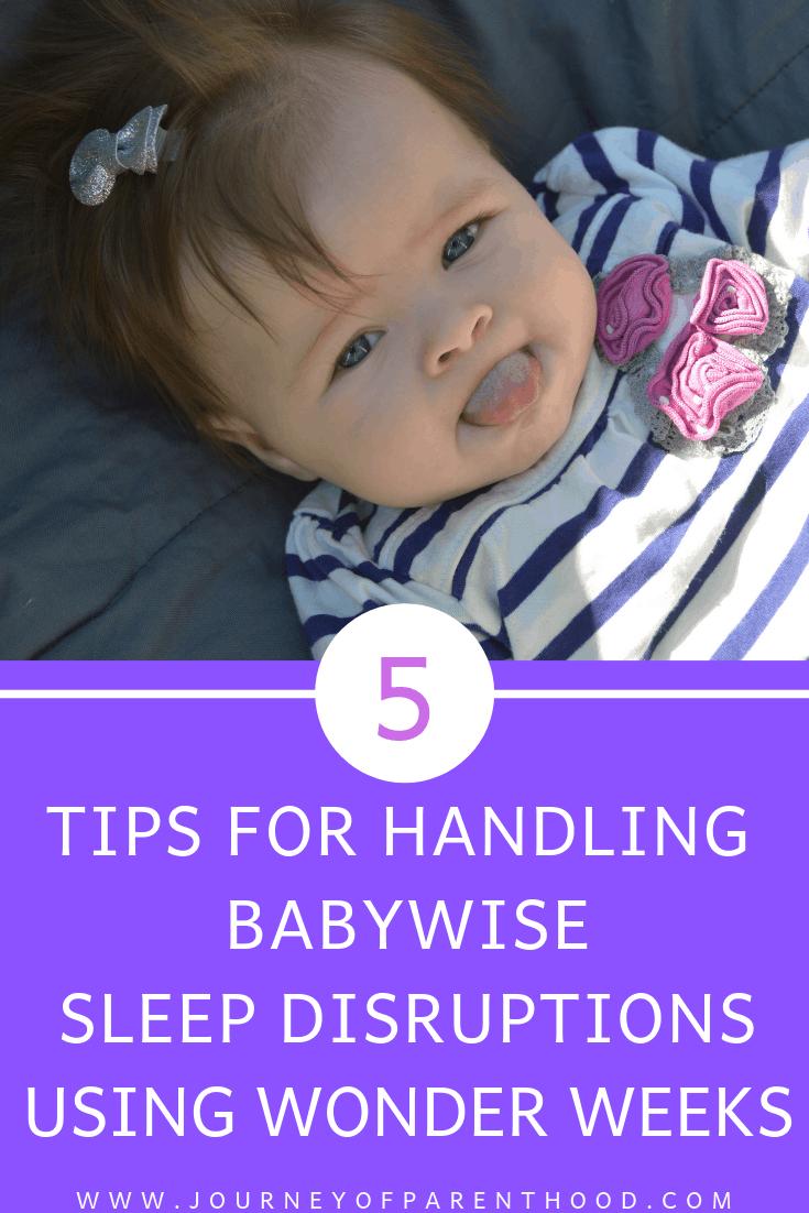 5 tips for handling babywise sleep disruptions using the wonder weeks