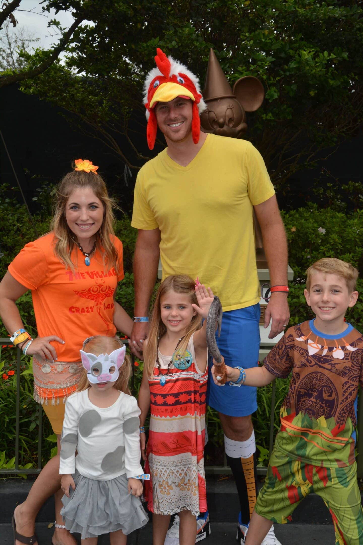 Moana Family Costumes: Themed Costumes for Halloween!