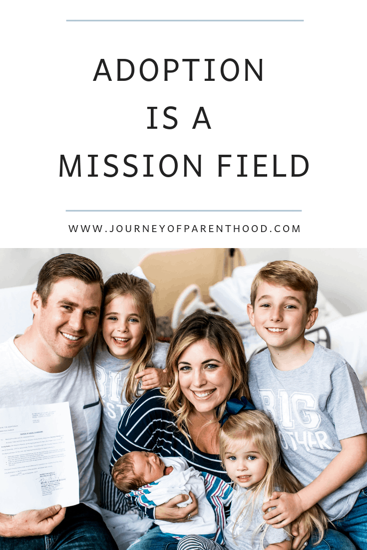 adoption is a mission field