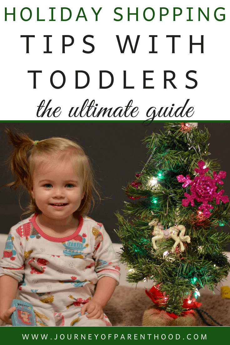 Holiday Shopping Tips with Toddlers – The Ultimate Guide
