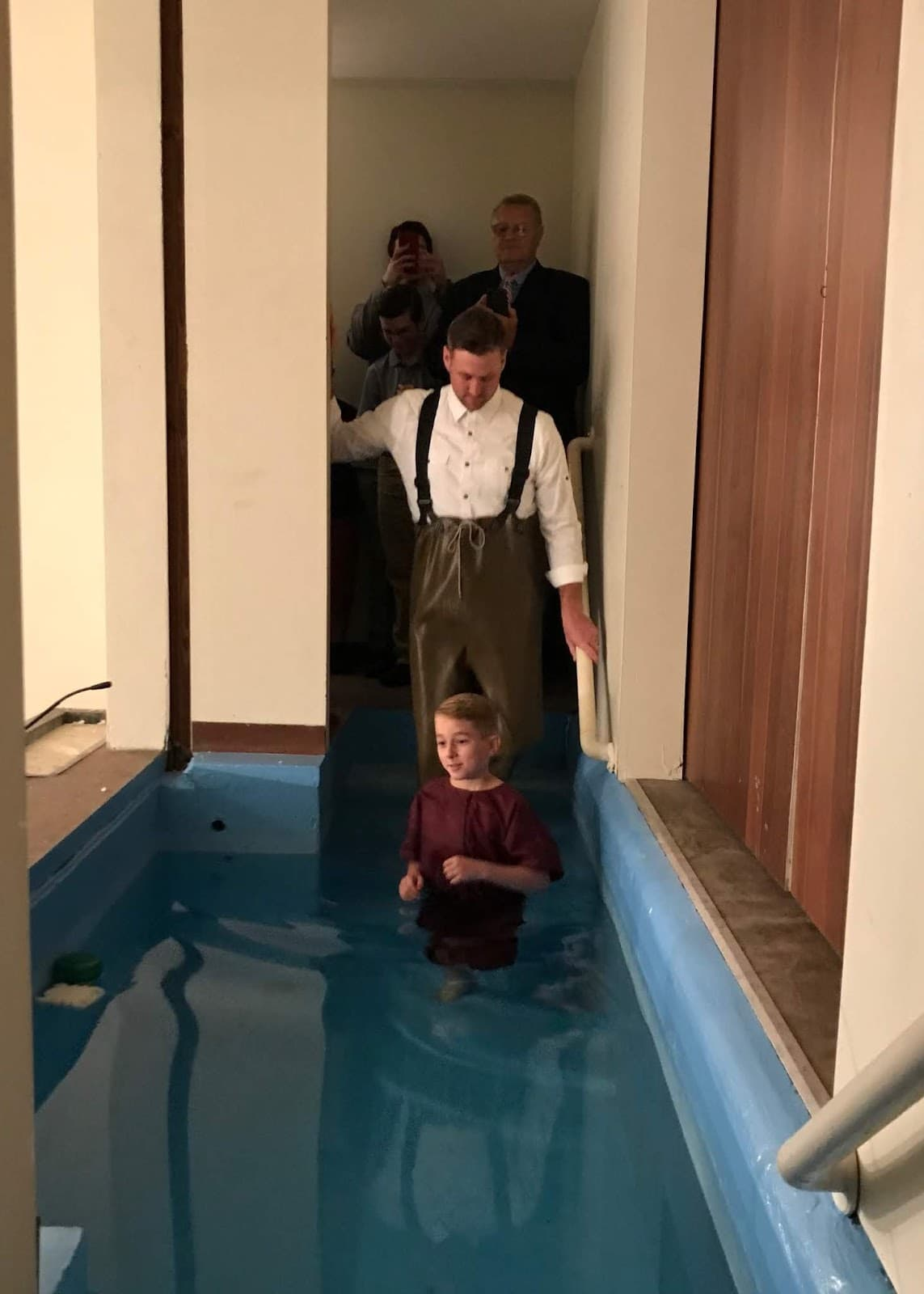 Why Baptism is Essential to Salvation: Kye's Baptism