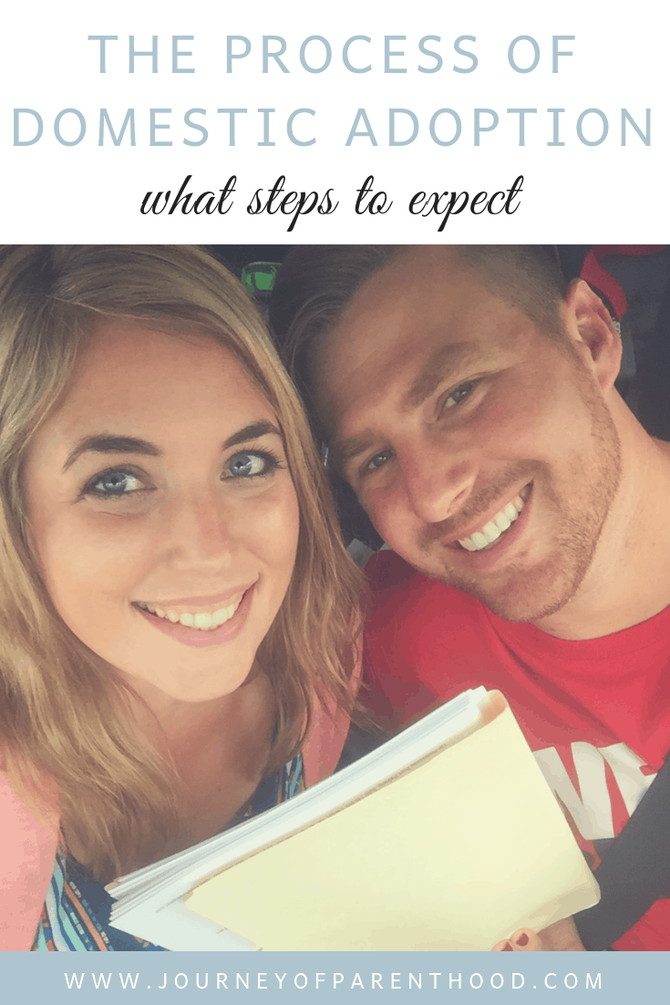 a couple preparing to submit their home study for domestic adoption: what steps to expect in the adoption process