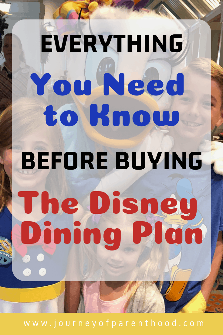 everything you need to know before buying the disney dining plan
