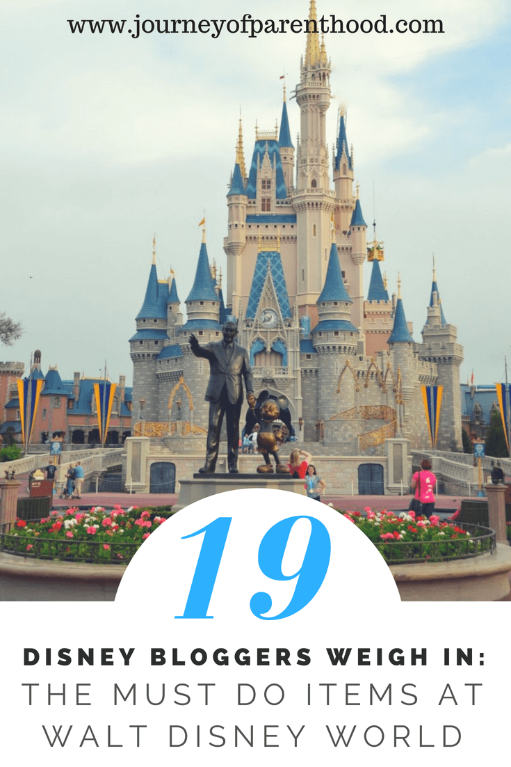 must do moments at walt disney world