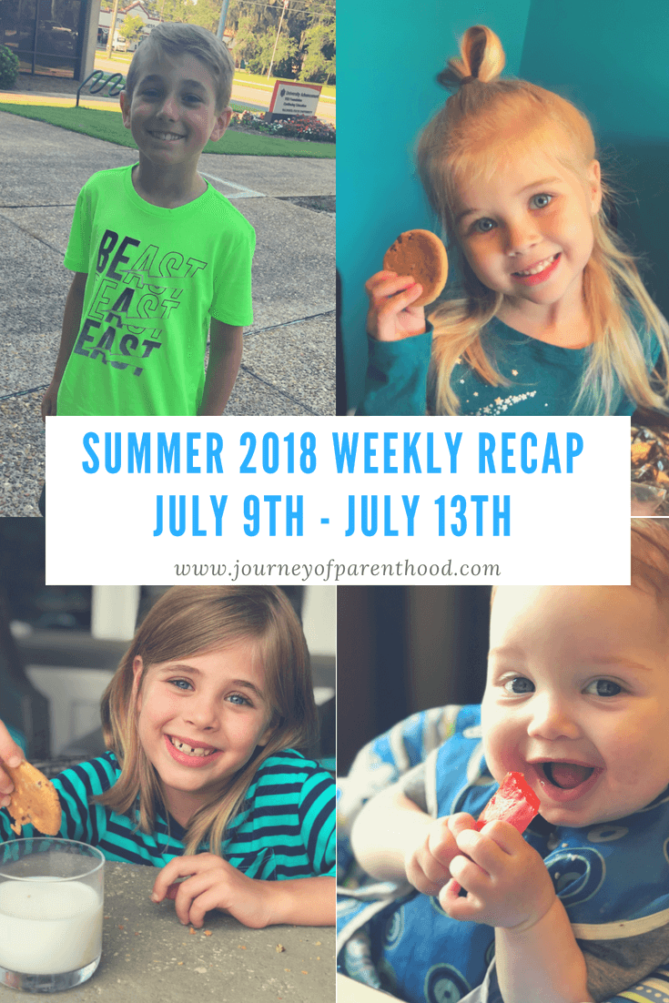 summer recap week 6