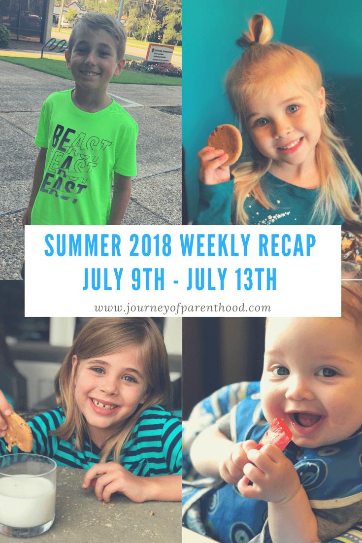 Summer Recap 2018: Week 6