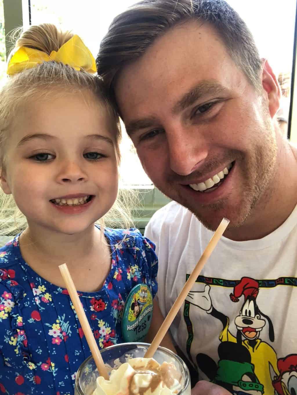 Tess Disney Birthday: Daddy Day at MK