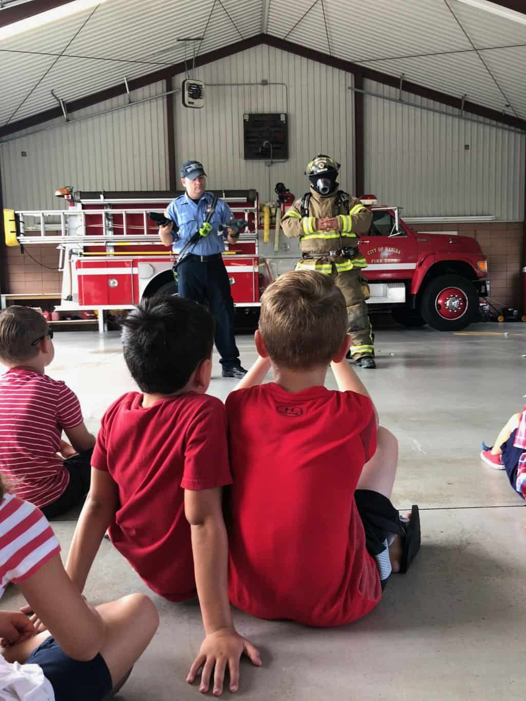 firestation fire safety visit