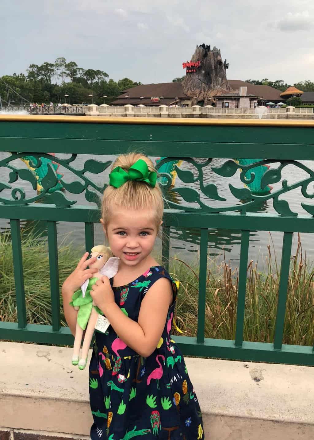 Tess Disney Bday: Disney Springs