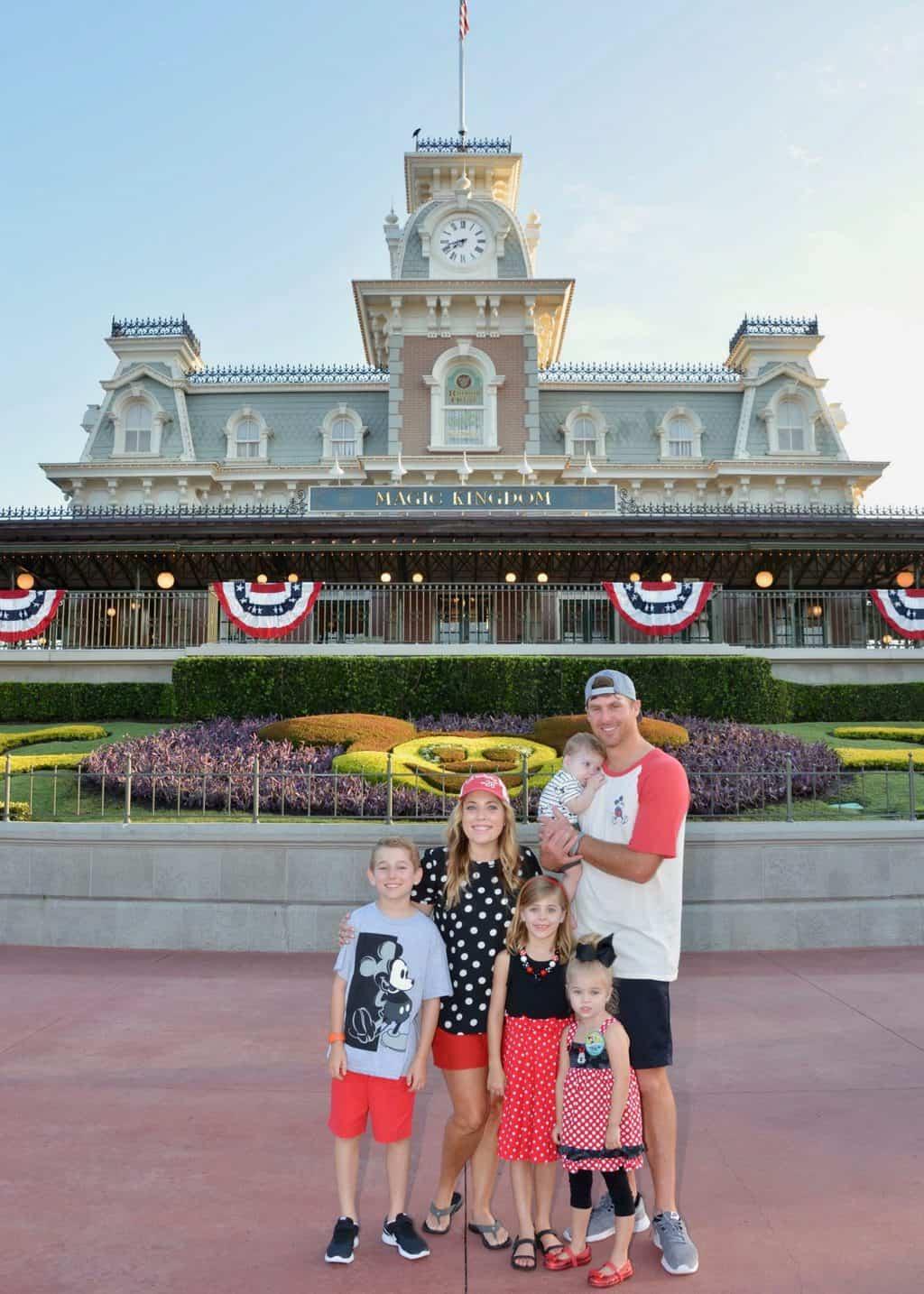 Tess Disney Birthday: Magic Kingdom Morning