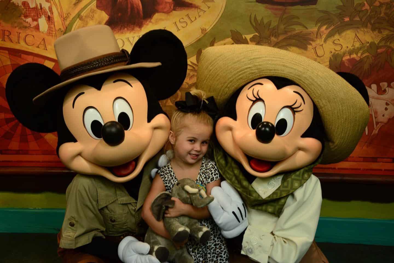 Tess Disney Bday: Mommy Day at AK