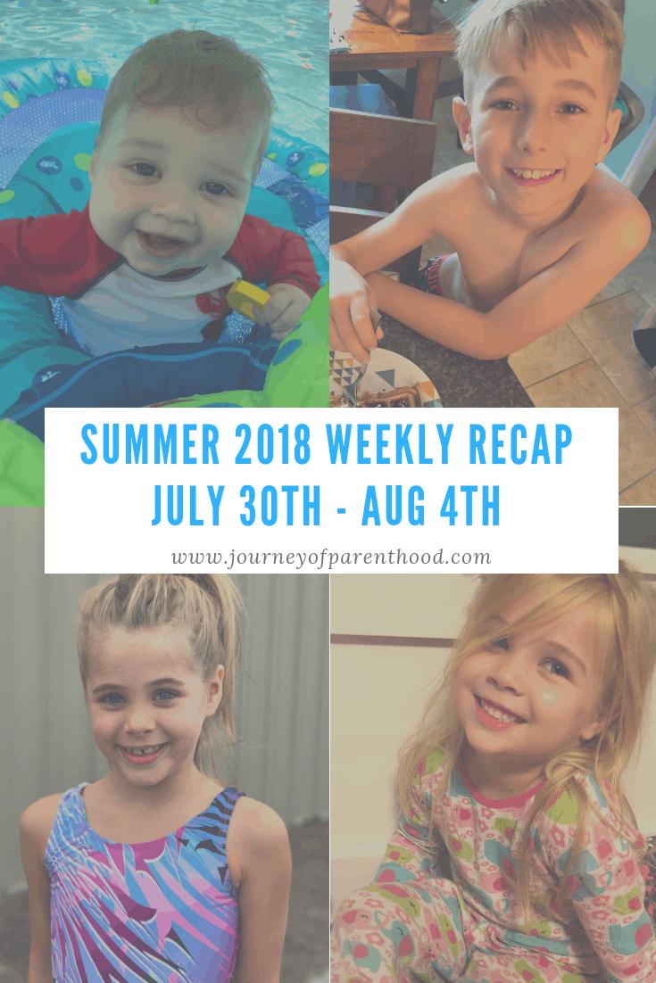 summer recap week 10