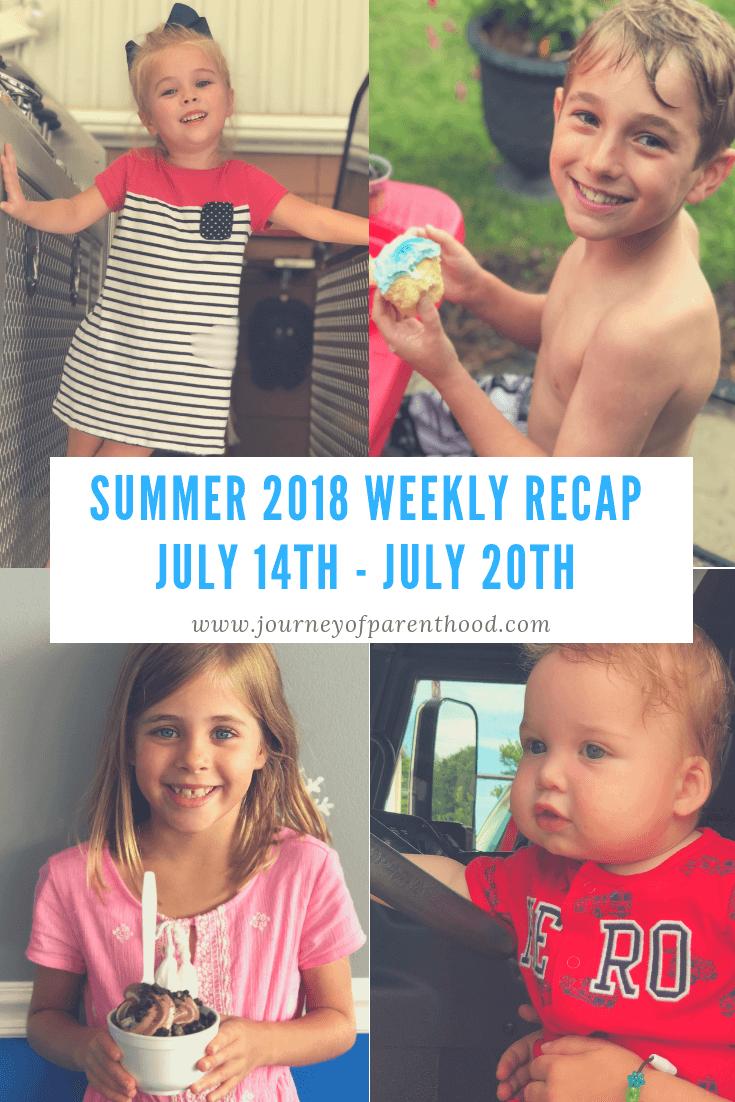 Summer Recap 2018: Week 7