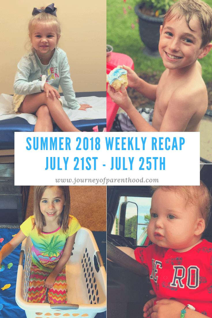Summer Recap 2018: Week 8