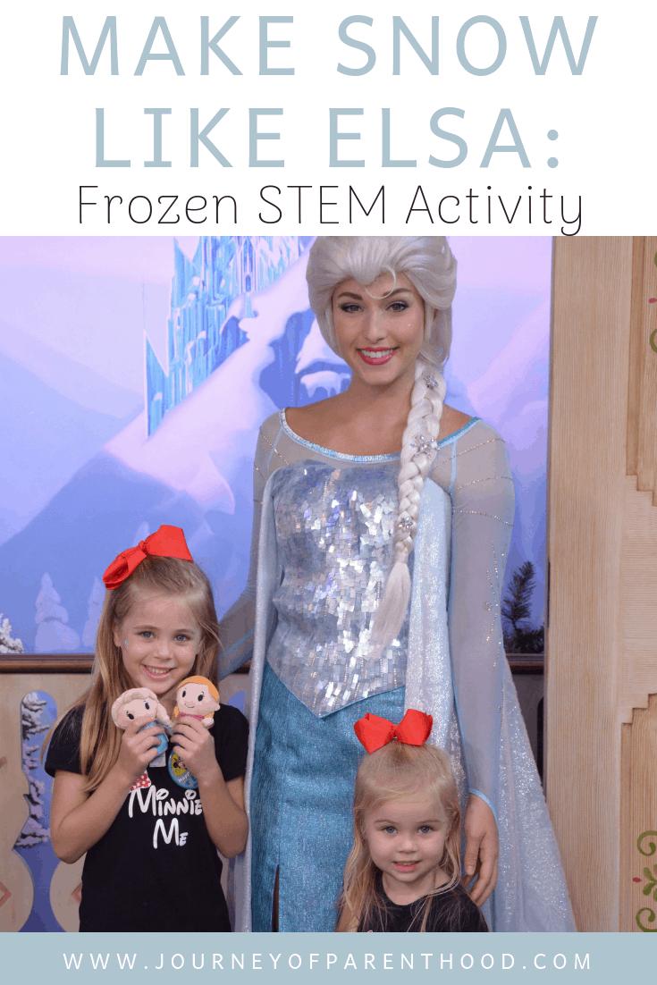 Make Snow Like Elsa: Frozen STEM Activity