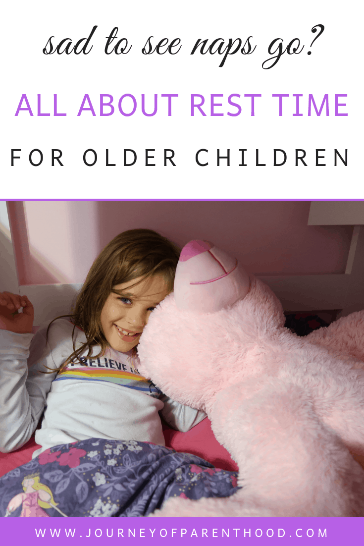 all about rest time for older children