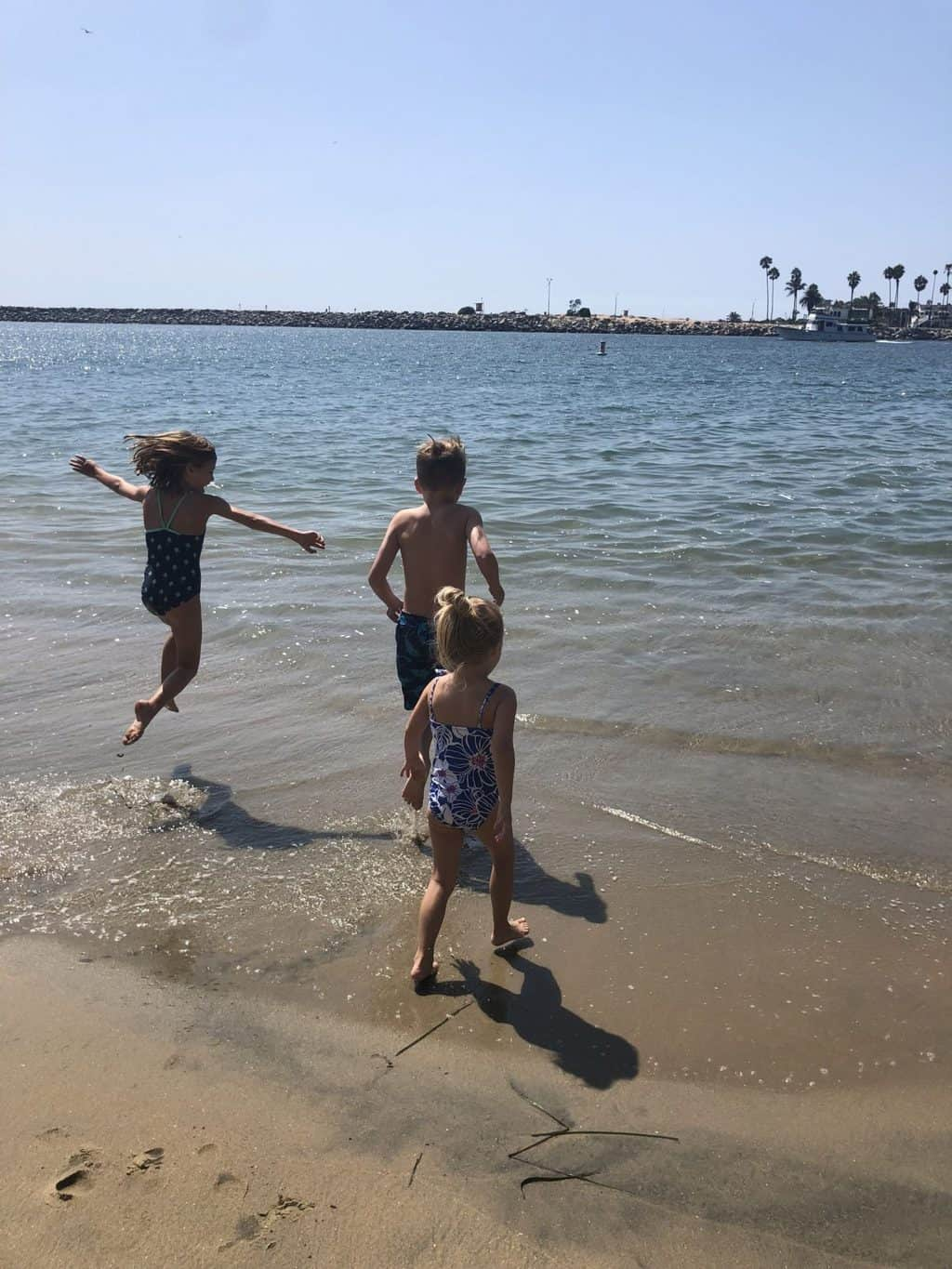 First Experiences of the Pacific Ocean: Newport Beach