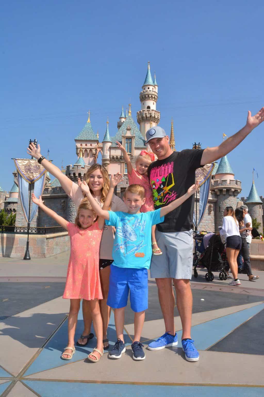 Second Morning at Disneyland