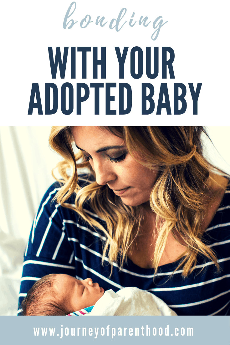 bonding with your adopted baby
